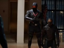 Arrow 5x07 The Vigilante vs Green Arrow