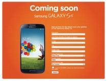 Samsung Galaxy S4 Pre-Registration