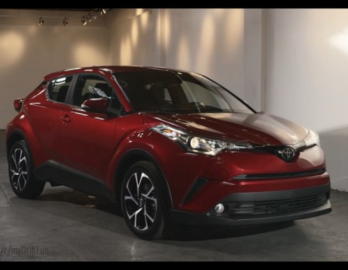 The 2018 Toyota C-HR Has 'Beauty' Written All Over It