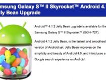 Samsung Galaxy S™ II Skyrocket™ Android 4.1.2 Jelly Bean Upgrade