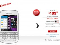 Rogers First To Offer BlackBerry Q10