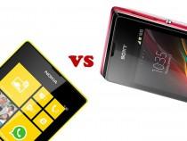 Nokia Lumia 520 vs Sony Xperia E