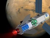 Fusion Driven Mars Rocket
