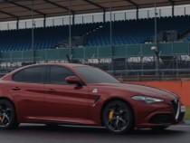 Alfa Romeo Giulia Sets Fastest Silverstone Lap Time In A 'Blindfolded' Run