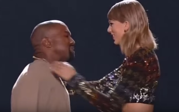 Taylor Swift Reacts To Kanye West Running For President MTV VMAs 2015