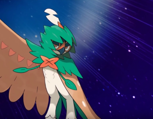 Pokemon Sun and Moon Decidueye