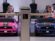 Ford Shows Value Of Safety, Puts Traction Control On Mustang Power Wheels