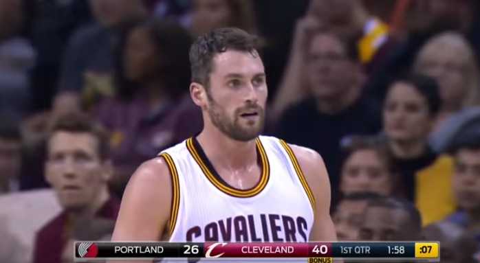 Kevin Love 40 Pts, UNREAL 34 in 1st Quarter!