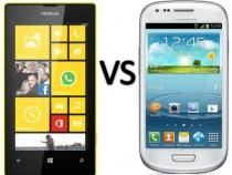 Nokia Lumia 520 vs Galaxy S3 Mini
