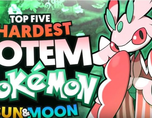 Pokemon Sun And Moon Top 5 Hardest Totem Pokemon And How To Beat Them