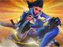 Street Fighter 5 Character Laura Receives Overwatch's Sombra Skin Mod