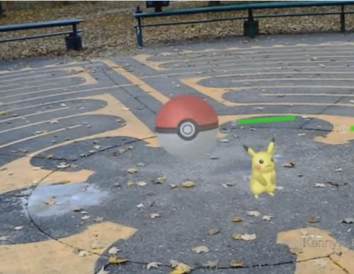 PokeLens: Fan Pokemon RPG battle system for the Hololens