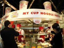 Final Fantasy XV Characters Are Crazy About Nissin Cup Noodles