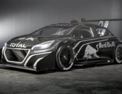 Peugeot Special-Edition 208 T16 Pikes Peak Racer