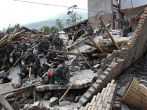 Sichuan earthquake in China