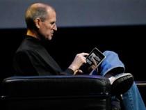 Steve Jobs Demonstrating First iPad