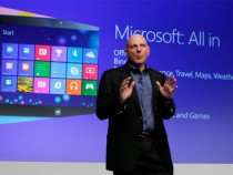 Microsoft Windows 8 launch and Steve Ballmer