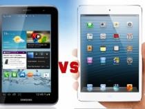 Galaxy Tab 2 7.0 vs. iPad mini