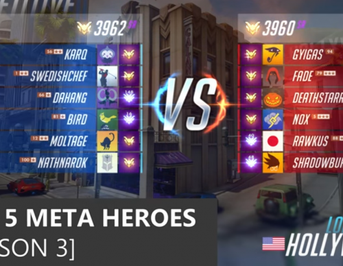 TOP 5 Meta Heroes to Play | Overwatch - Season 3