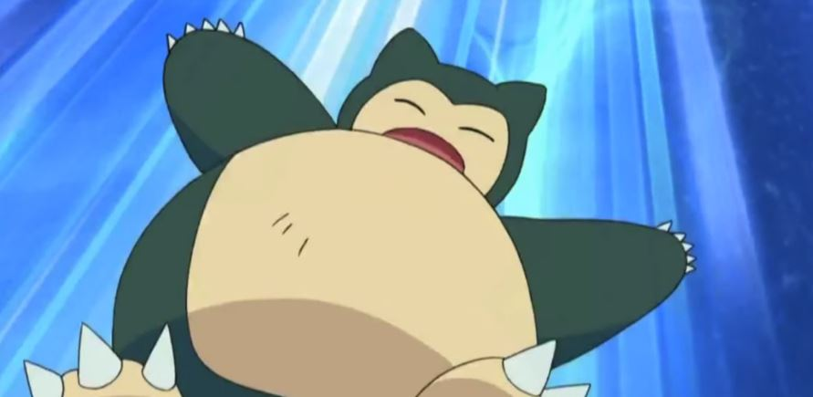 All Ash's Snorlax moves