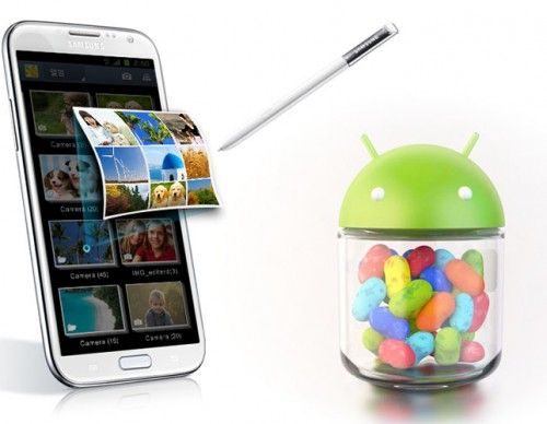 Galaxy Note 2 Jelly Bean Update