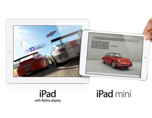 iPad with Retina and iPad Mini