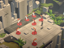 Lara Croft GO To Hit PS4 And Vita Soon?