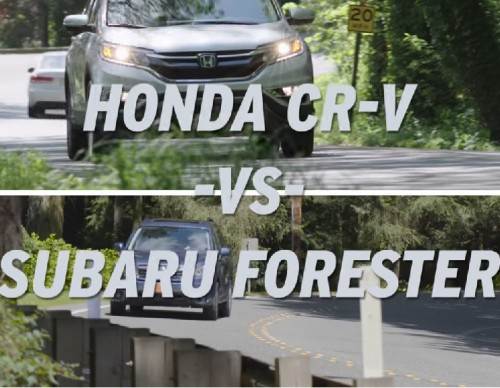 Fuel Efficiency Showdown: 2017 Honda CR-V vs Subaru Forester