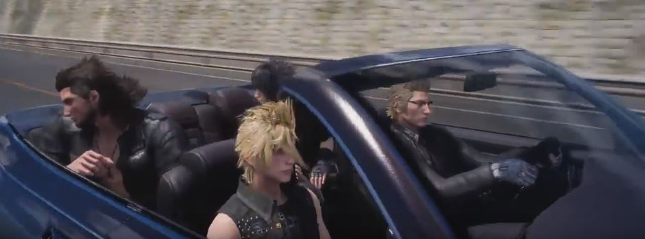 Final Fantasy XV Cruising PS4