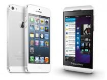 iPhone 5 vs. BlackBerry Z10
