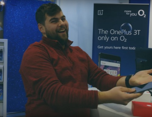 OnePlus 3T - London pop-up event with O2