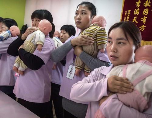 Learning Childcare At Beijing's Nanny University
