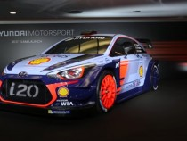 Hyundai Unveils Its New World Rally Car