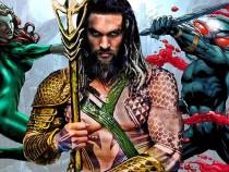 Jason Mamoa takes on the half-human, half-Atlantean role of