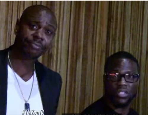 We Talk To Kevin Hart & Dave Chappelle!   TMZ TV