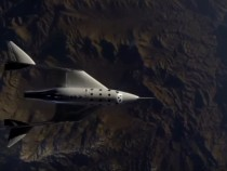 New SpaceShipTwo Makes First Glided Flight