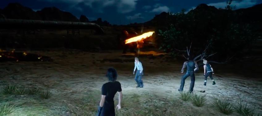 Final Fantasy XV Tip: Don't Go Out At Night