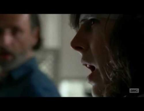 The Walking Dead 7: Carl Threatens Negan and the Saviors