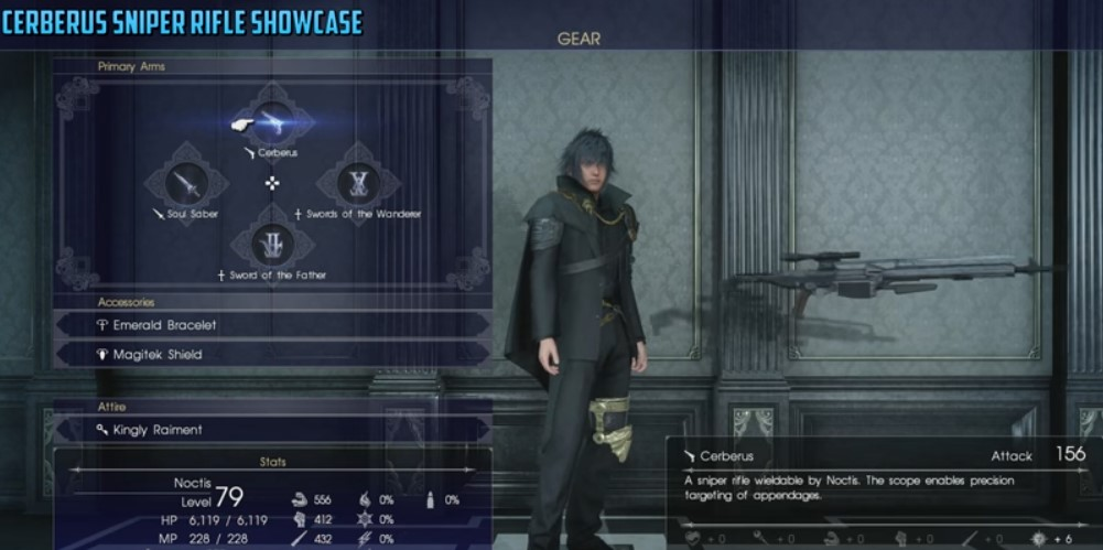 Final Fantasy XV Cheats, Trick: How To Regenerate Infinite