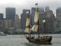 Replica of Early Settler Ship