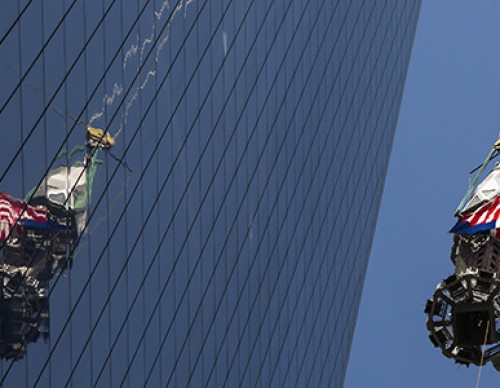 Final Pieces of One World Trade Center