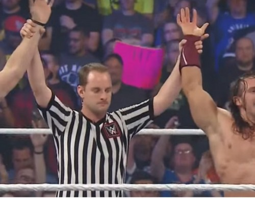 Neville & Stephen Amell vs. Stardust & King Barrett: SummerSlam 2015