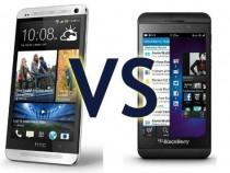 HTC One VS BlackBerry Z10