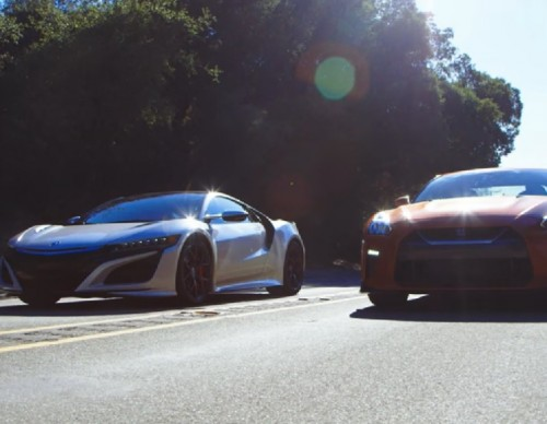 Battle Of The Supercars: 2017 Acura NSX vs Nissan GT-R