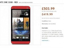 HTC One Red Version