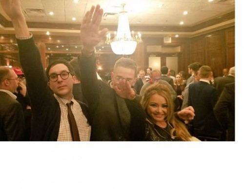 Alt-Right Leader's Speech Ends With Nazi Salutes