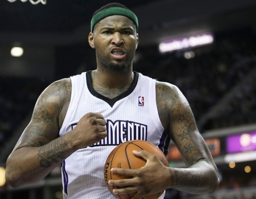 Sacramento Kings DeMarcus Cousins rumored to be traded with Indiana Pacers Paul George.