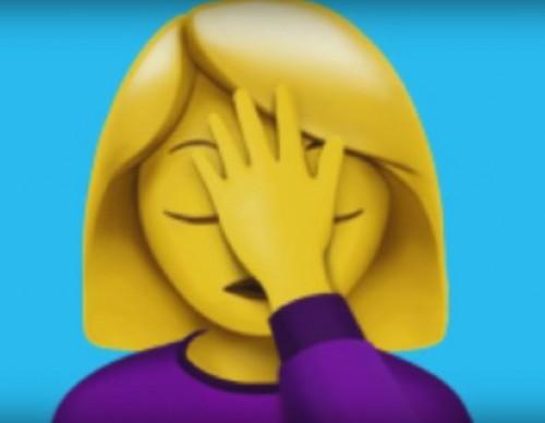 Face Palm Emoji
