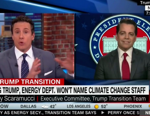 CNN's Chris Cuomo Grilled Trump Adviser Anthony Scaramucci On His Position On Climate Change