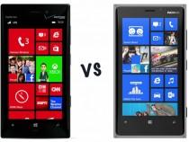 Nokia Lumia 928 vs. Lumia 920